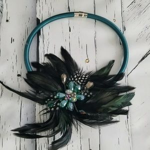Unique Handmade Feathers Necklace